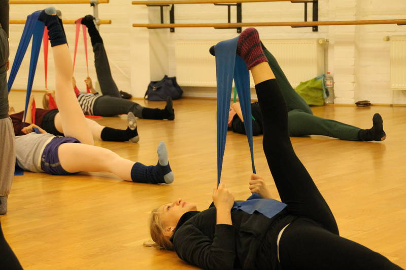 Floor Barre And Stretch