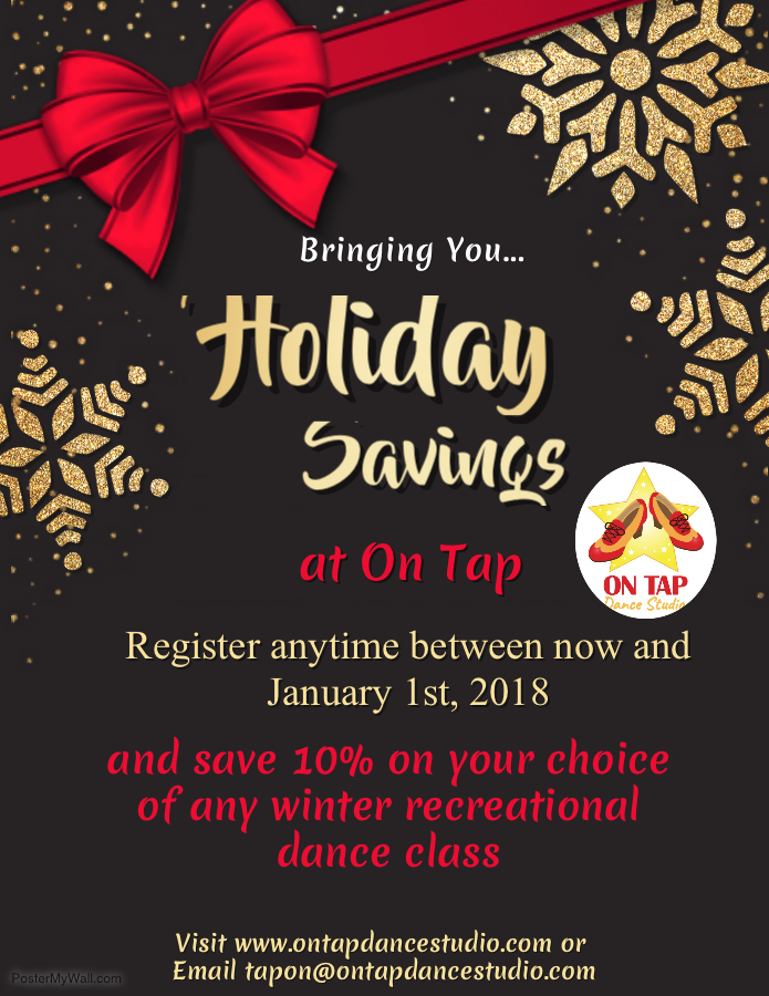 discount winter registration 2018